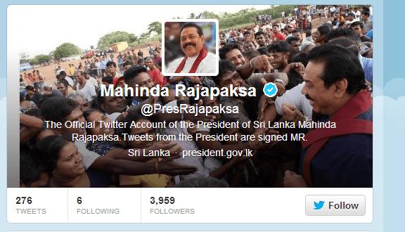 president-sri-lanka-twitter