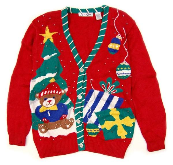 5 ugly christmas sweaters