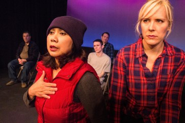 "Actor G in ""The Laramie Project"""
