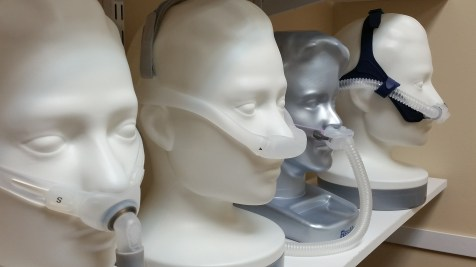CPAP masks (my most popular photo on Adobe!)