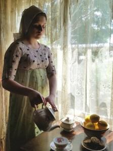 Inspired by Vermeer's The Milkmaid II