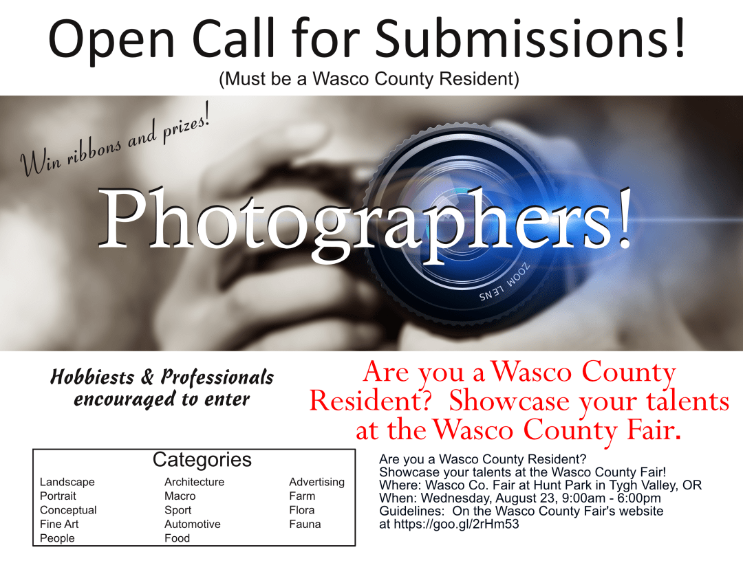 Open Call Photographers