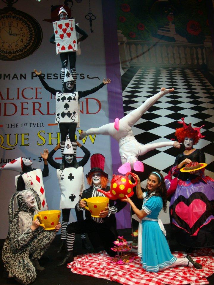 Cirque Alice in Wonderland, Dubai
