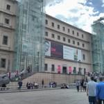 La Museo de Reina Sofia Madrid Spain