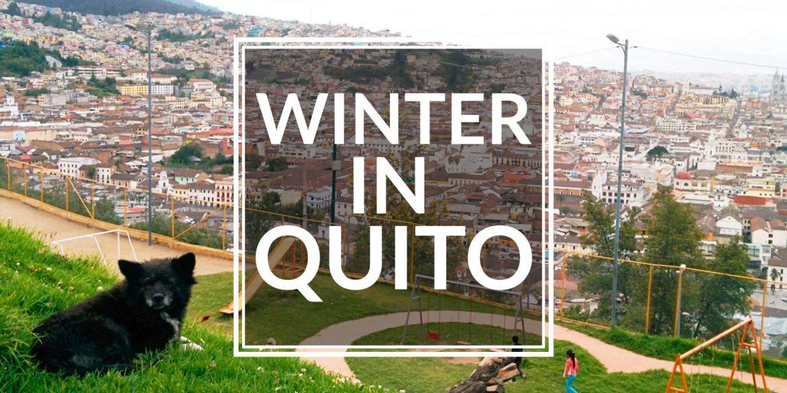 winter in quito