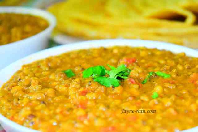 mung beans curry