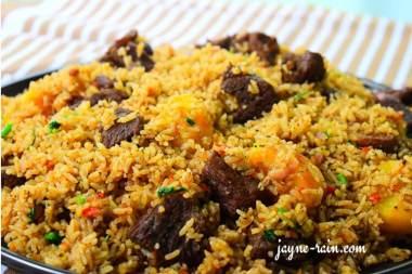 beef pilau rice