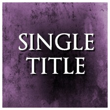Single Titles