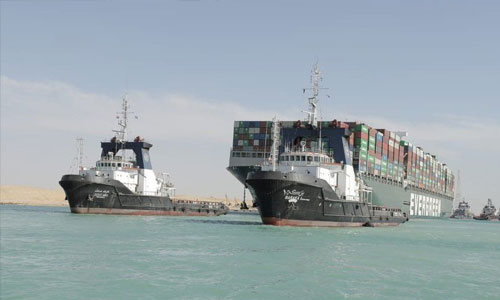Suez Canal reopens after giant stranded ship is freed