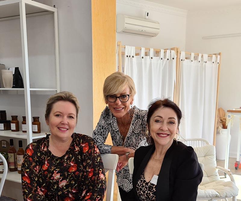 Carol, Anna, Jaynie Biggest Morning Tea
