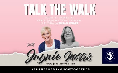 TalkTheWalk Podcast Susan Knapp with Jaynie Morris