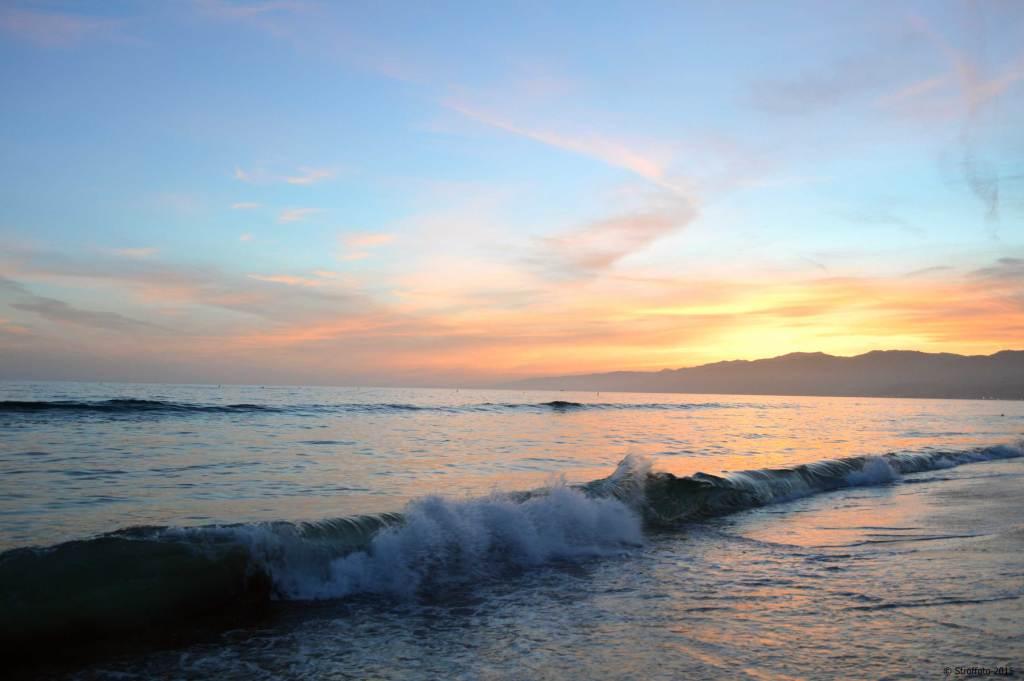 Sunset Santa Monica California