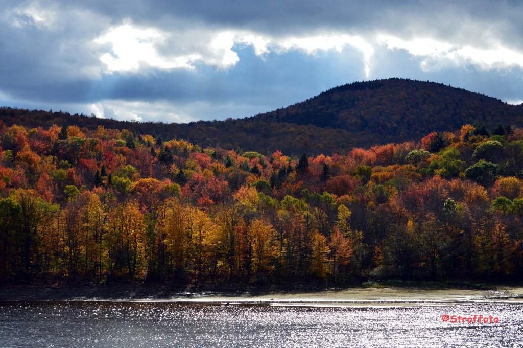 Fall on Harriman Reservoir Wilmington Vermont