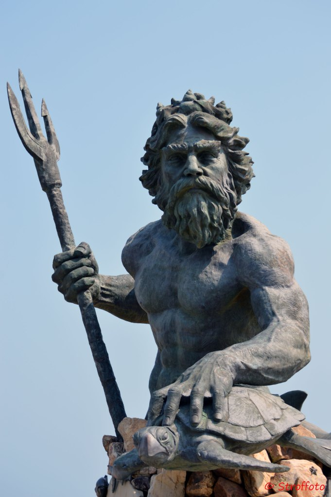 King Neptune on Virginia Beach