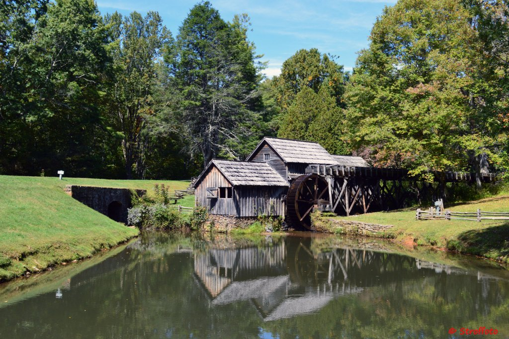 The Mabry Mill on the Blue Ridge Parkway