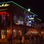 Beale St. Memphis At Night