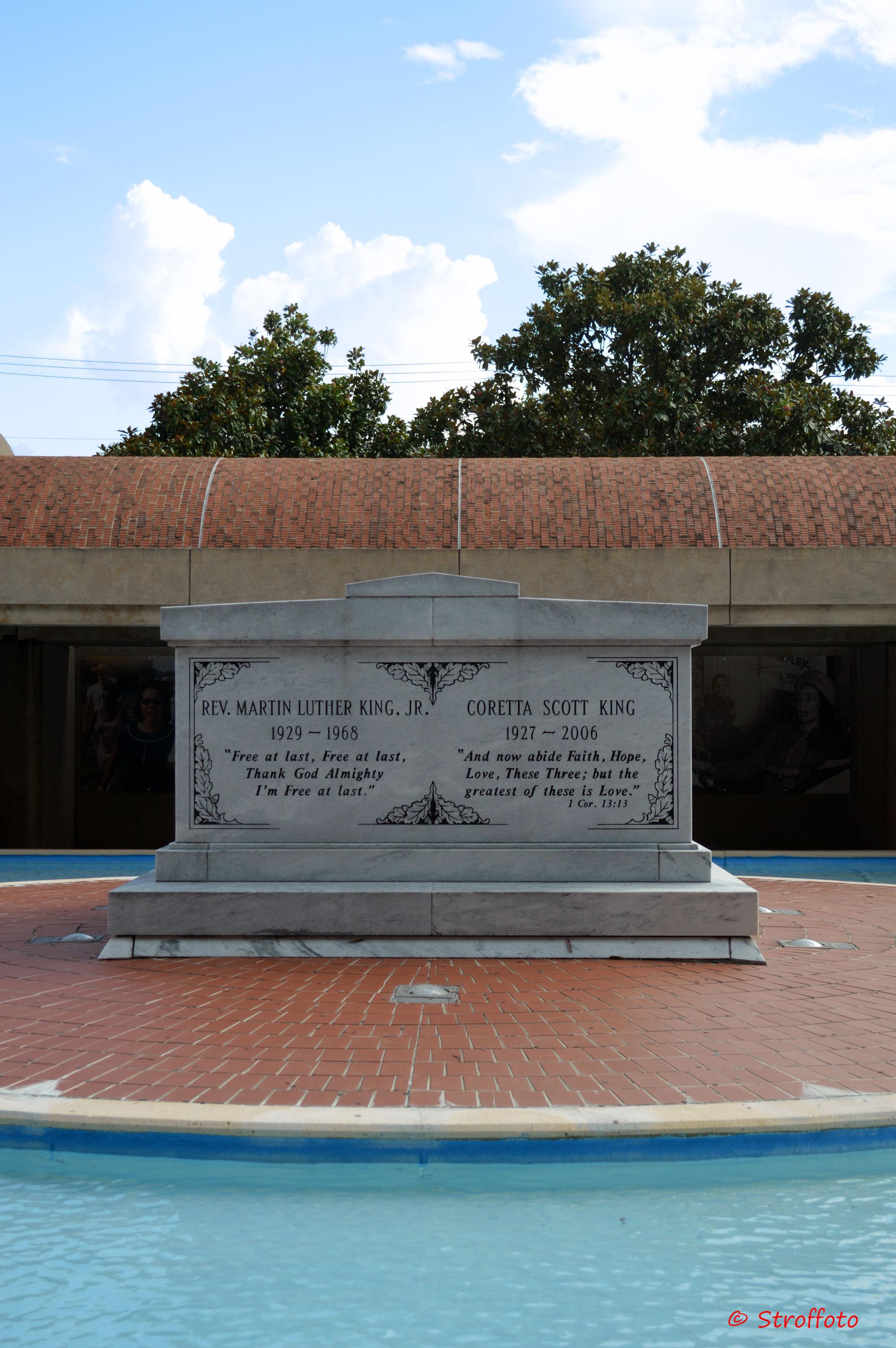 MLK Grave at the MLK National Historic Site