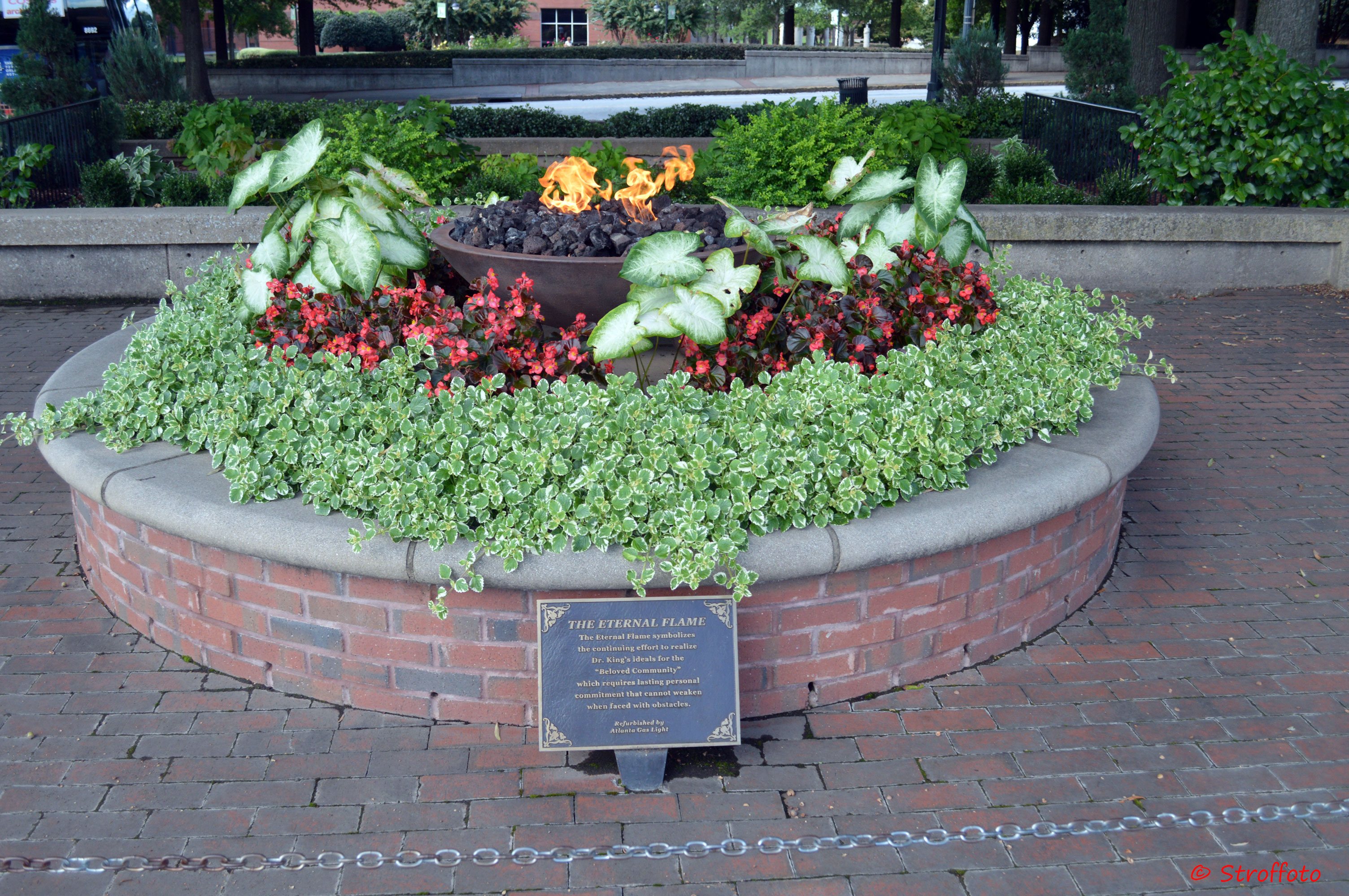 Eternal Flame at the MLK National Historic Site