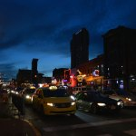 Broadway in Nashville At Night