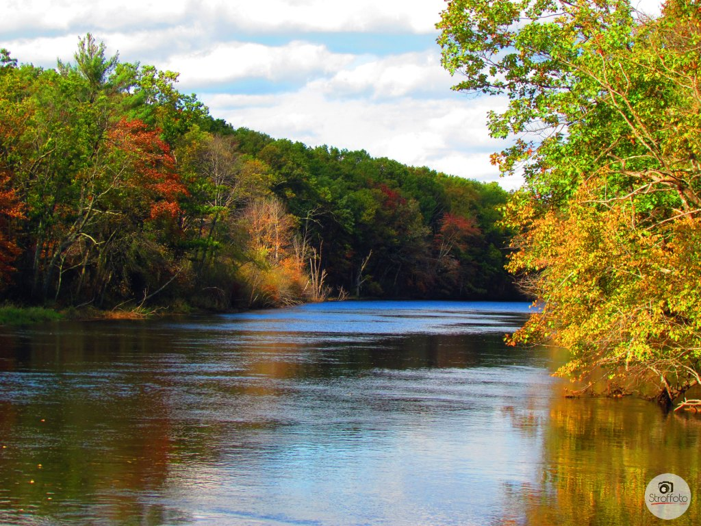 Nashua River in the Fall