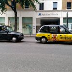 Famous London Taxi Cabs