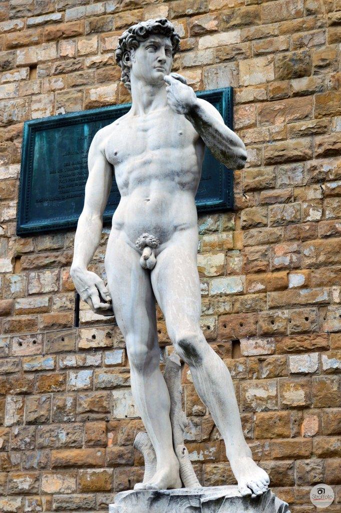 Replica David Statue in Florence
