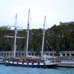 Pirate Ship on the River