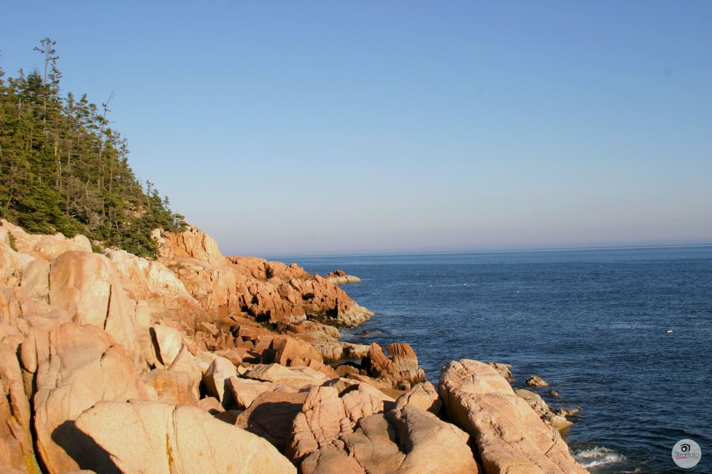 Rocky Maine Coastline - Bass Harbor Maine