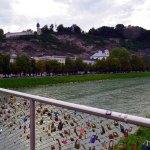 Love Locks Bridge Salzburg