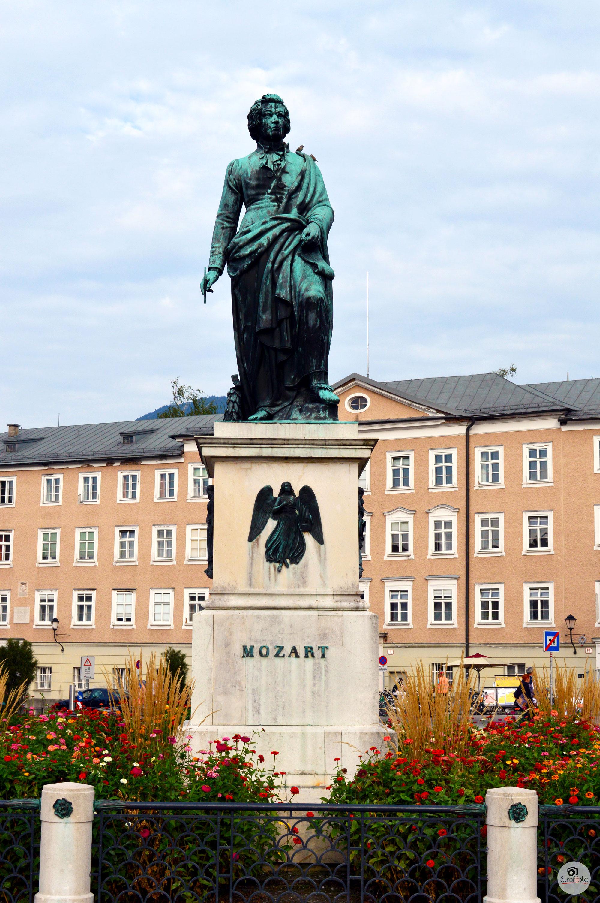 Mozart Statue Salzburg