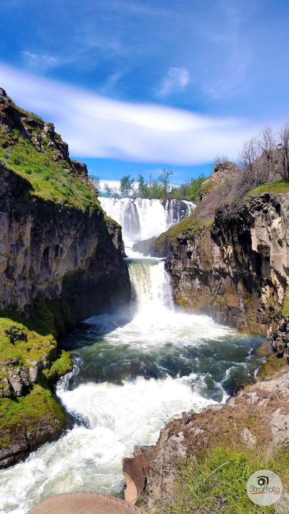 White River Falls Maupin Oregon
