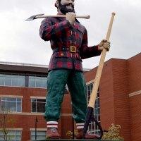 Paul Bunyan in Bangor Maine