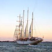 Sail Boat in Venice