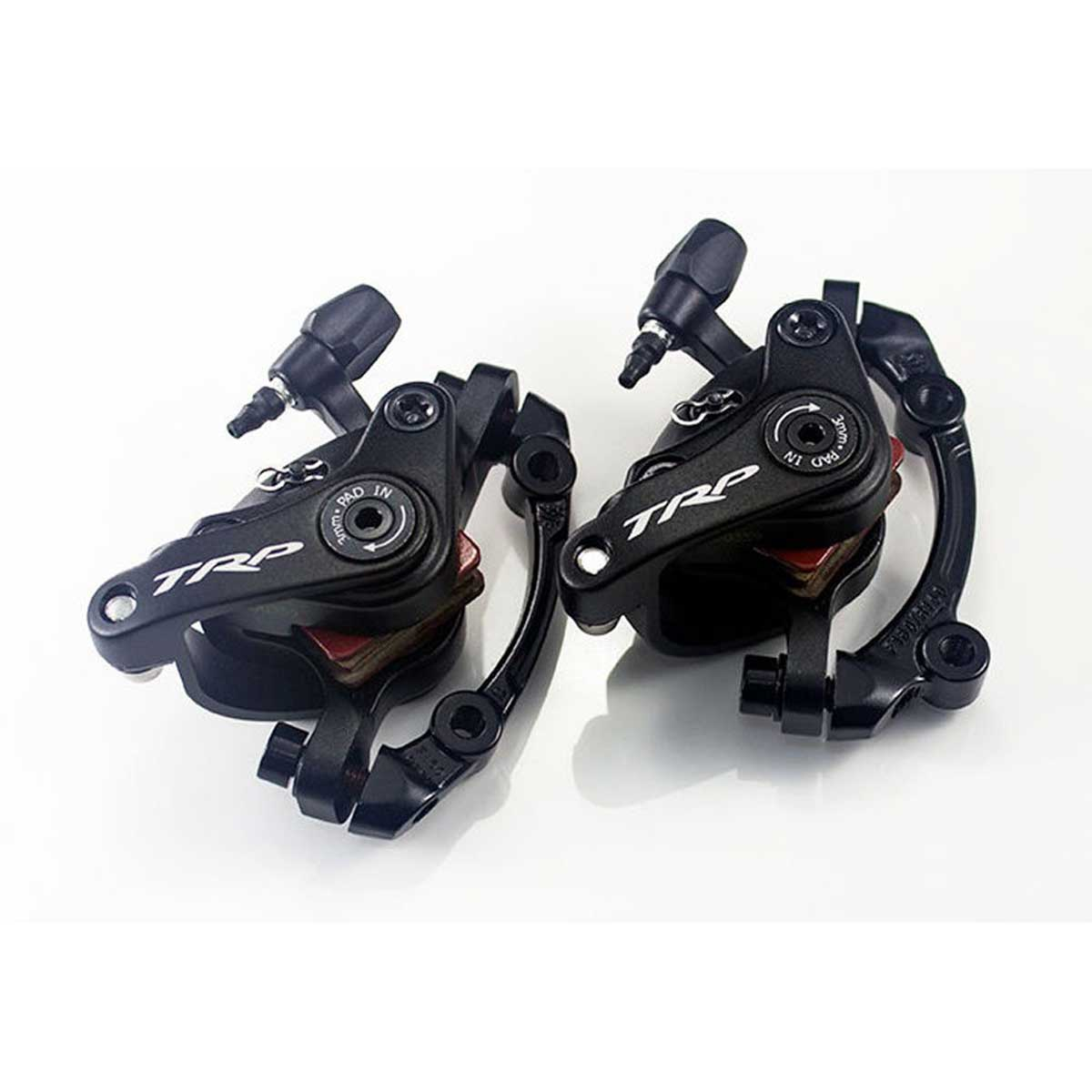 PAIR TRP SPYKE Mechanical Disc Brake Dual Side Actuation Mountain Bike Set 160mm