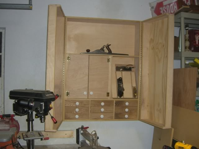 Wall Hanging Tool Cabinet  Wood Insights