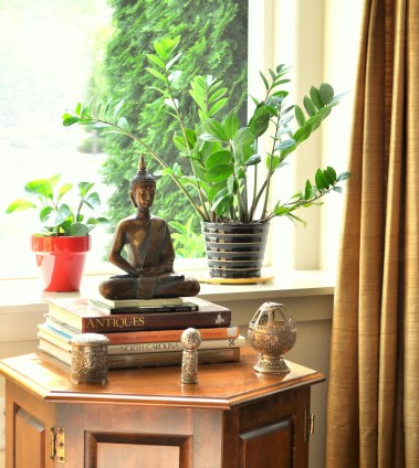 Buddha by the window