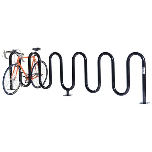 Wave Bicycle Rack (7 Capacity – Below Grade Mount
