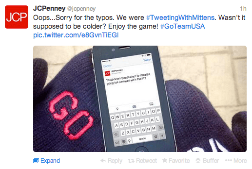 The JC Penney Fake Twitter Super Bowl Controversy…