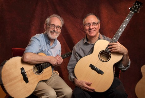 Frank and Henry will be performing at The Woodstock Luthiers Invitational on Jay Rosenblatt Guitars