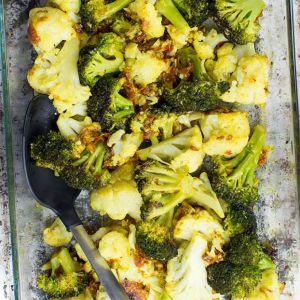 Roasted Cauliflower Wedge, Broccoli, Red Quinoa-Confetti, Sweet Potato Dal (for 2)
