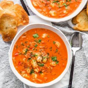 Brazilian Shrimp and Coconut Stew (Moqueca De Camaro) for 1