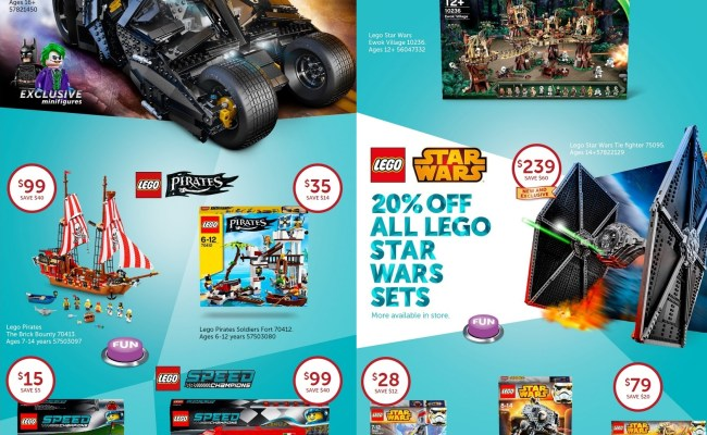 Australian Lego Sales July 2015 Target Toy Sale Edition