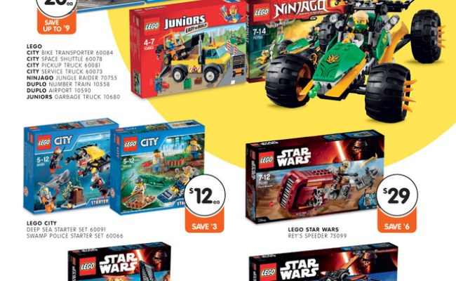 Australian Lego Sales January 2016