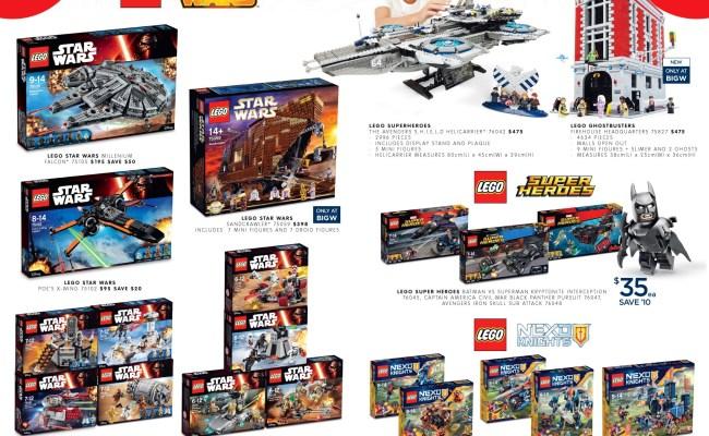 Australian Lego Sales June 2016 Mid Year Toy Sale Edition