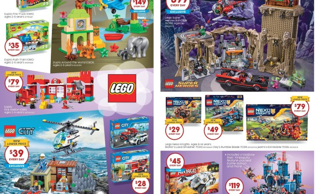 Australian Lego Sales July 2016