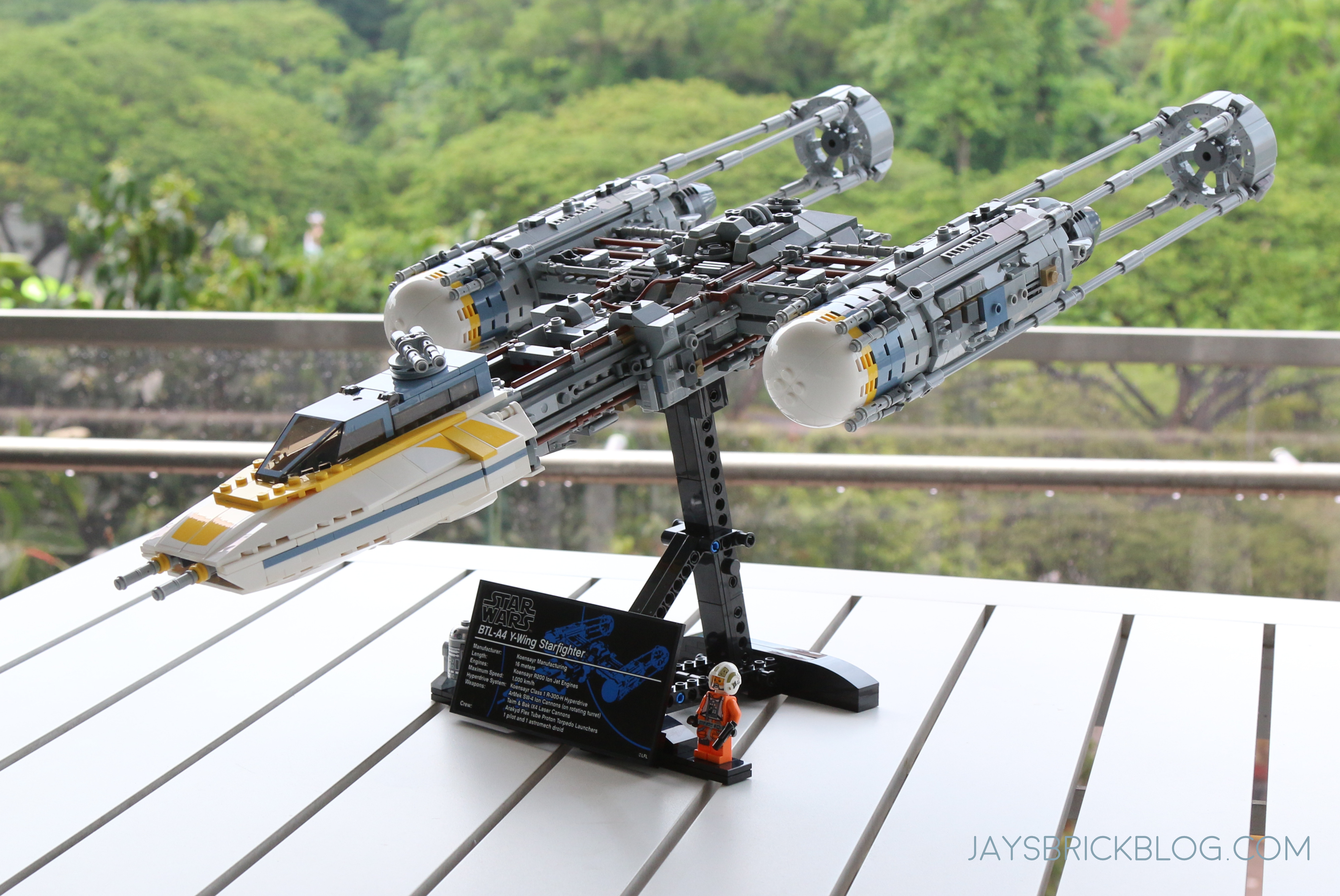 Review Lego 75181 Ucs Y Wing Starfighter 2018 Jays