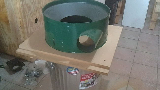 Harbor Freight Dust Collector Upgrade Impeller