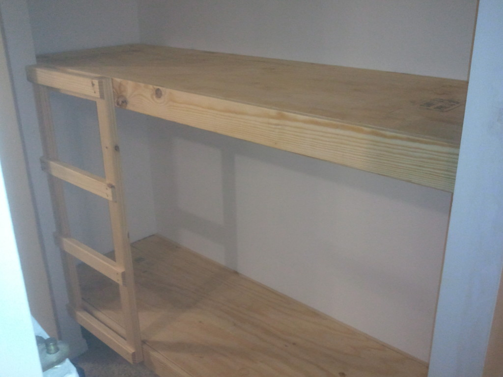 Built In Bunk Bed And Elf Bunk Beds Jays Custom Creations