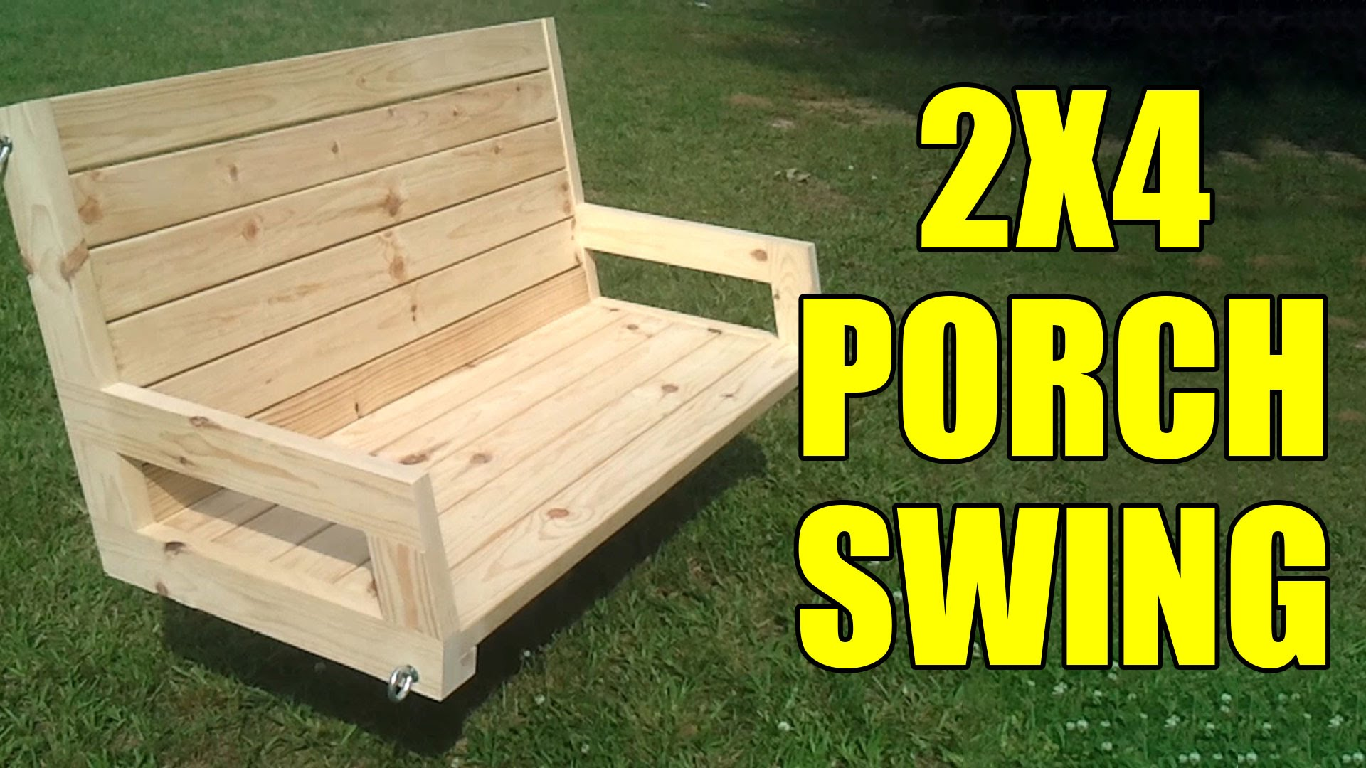 swing chair plan rattan and ottoman how to build a 24 porch jays custom creations