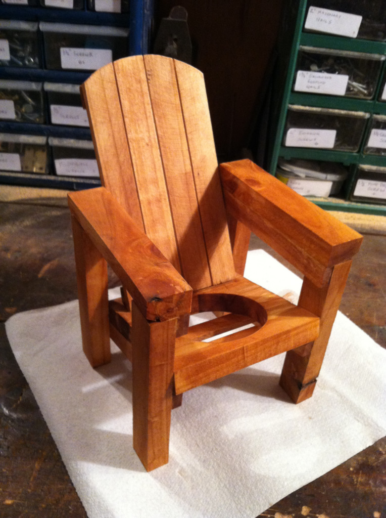 mini adirondack chairs dorado office chair thom's wine bottle holder | jays custom creations